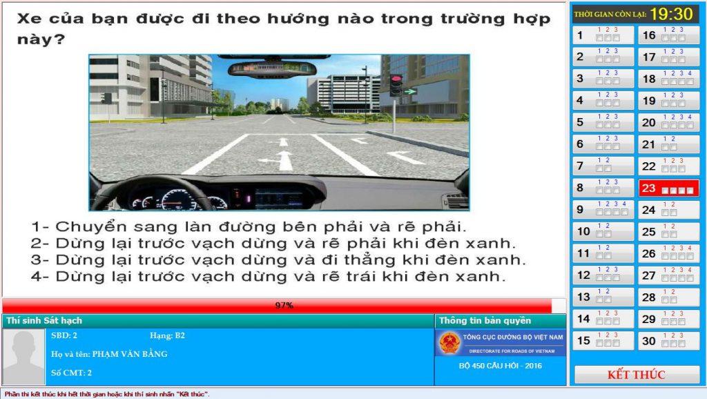 Tổng hợp những câu trắc nghiệm lái xe hay sai nhất