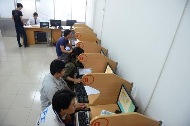 thi bằng lái xe máy Nam Định