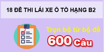 Download phần mềm 600 câu hỏi B2