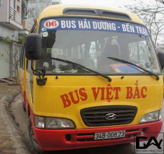 thời gian chạy xe buýt số 06 Hải Dương - Bến Trại