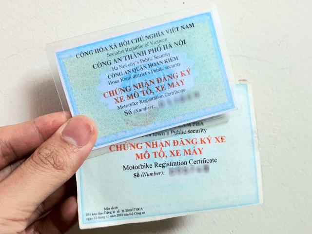 thủ tục cấp lại đăng ký xe máy Hải Dương